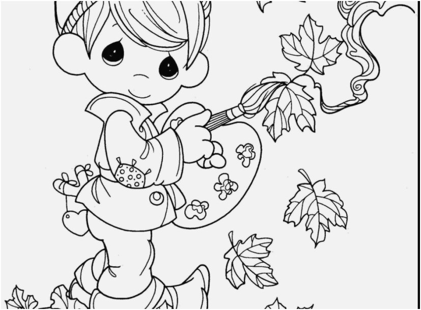 827x609 The Ideal Images Precious Moments Coloring Pages Famous