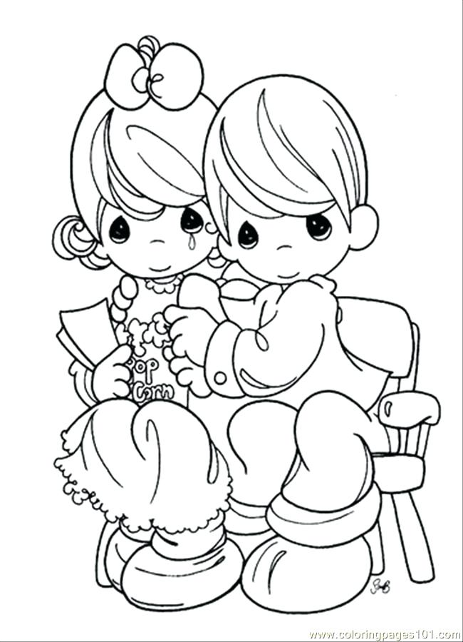 650x900 Free Precious Moments Coloring Pages To Print Many Interesting