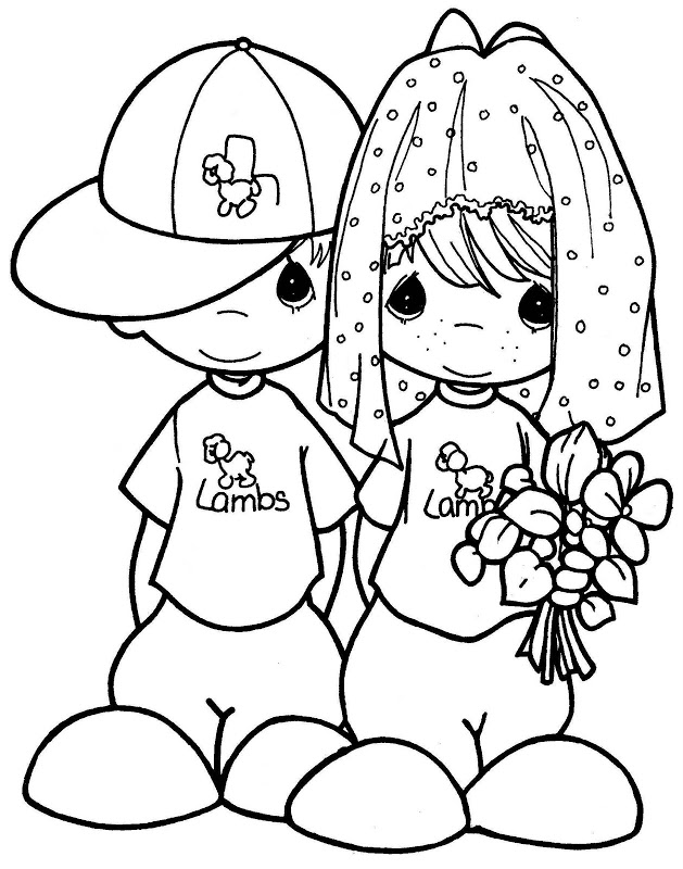 629x800 Moments Couple Coloring Pages