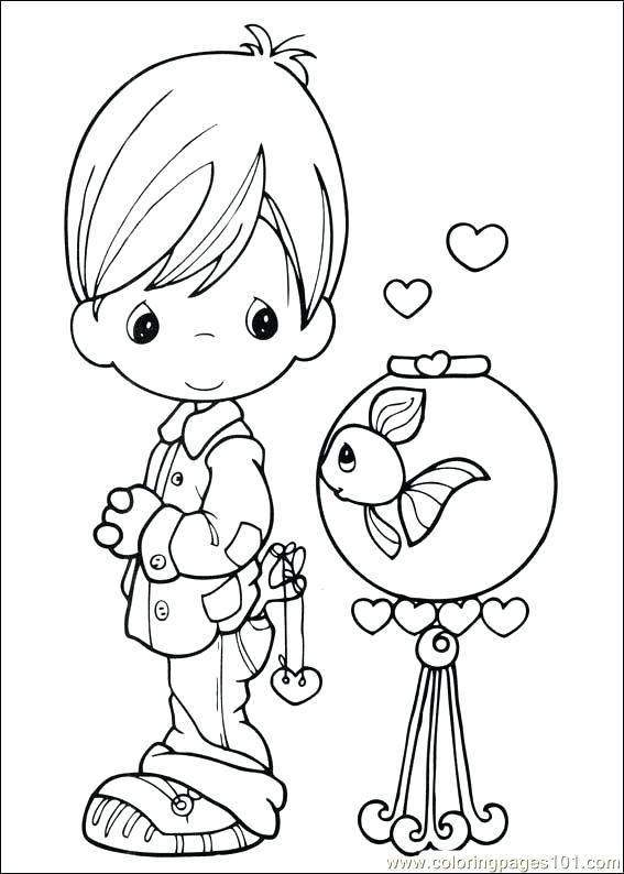 567x794 Precious Moments Coloring Pages Precious Moments Coloring Page