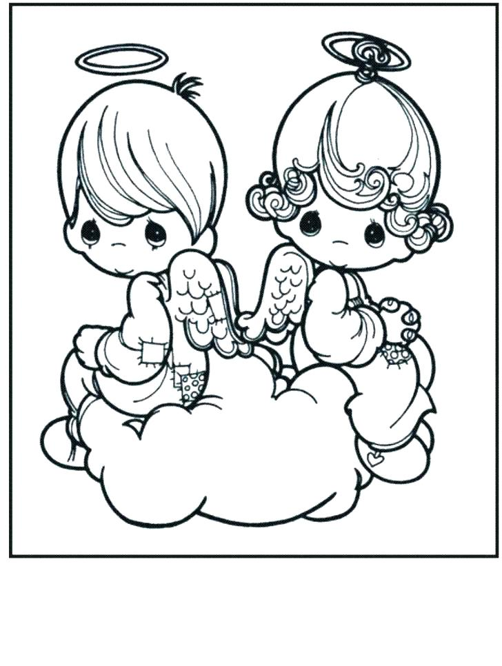 728x966 Precious Moments Printable Coloring Pages Precious Moments