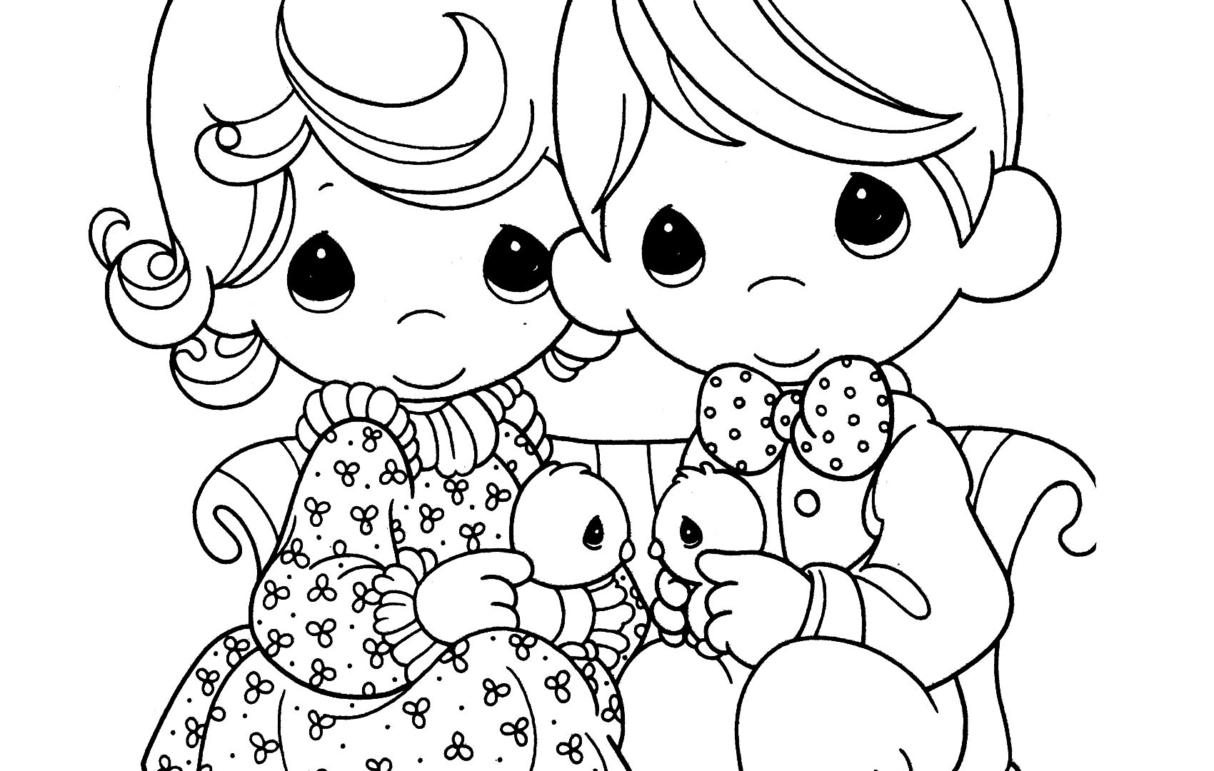 1700x1080 Print Adult Precious Moments Coloring Pages Color Free Printable