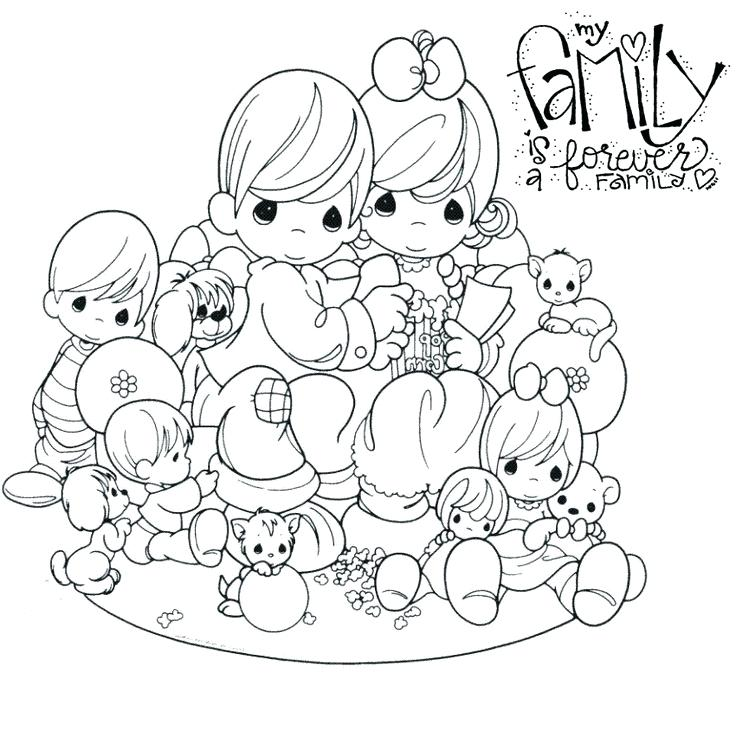 Precious Moments Easter Coloring Pages At Getdrawings