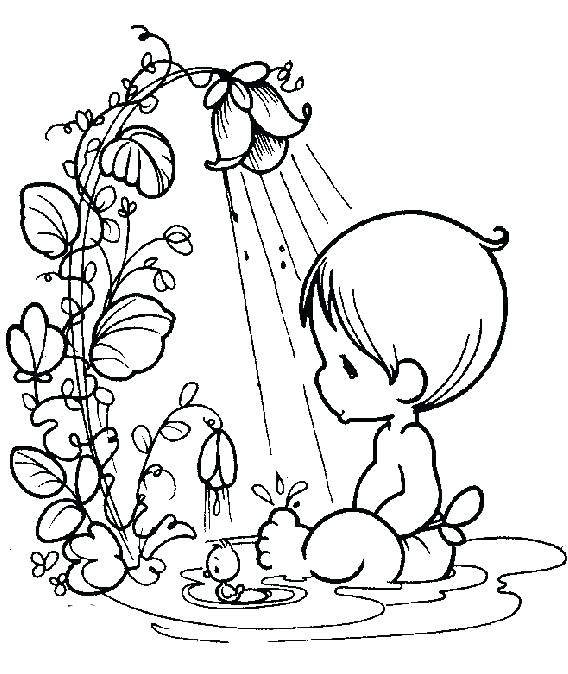 568x674 Precious Moments Baby Coloring Pages Baby Boy Coloring Pages As