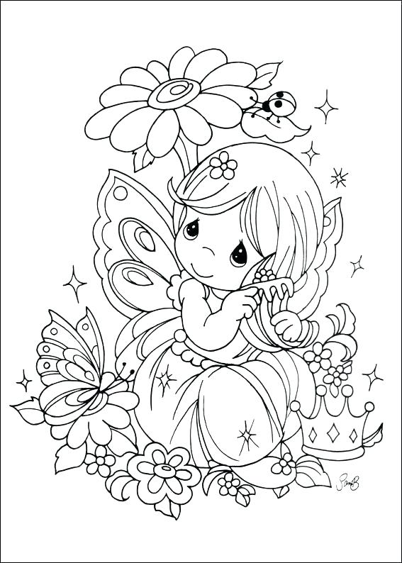 567x794 Precious Moments Coloring Books Changing A Diaper Free Coloring