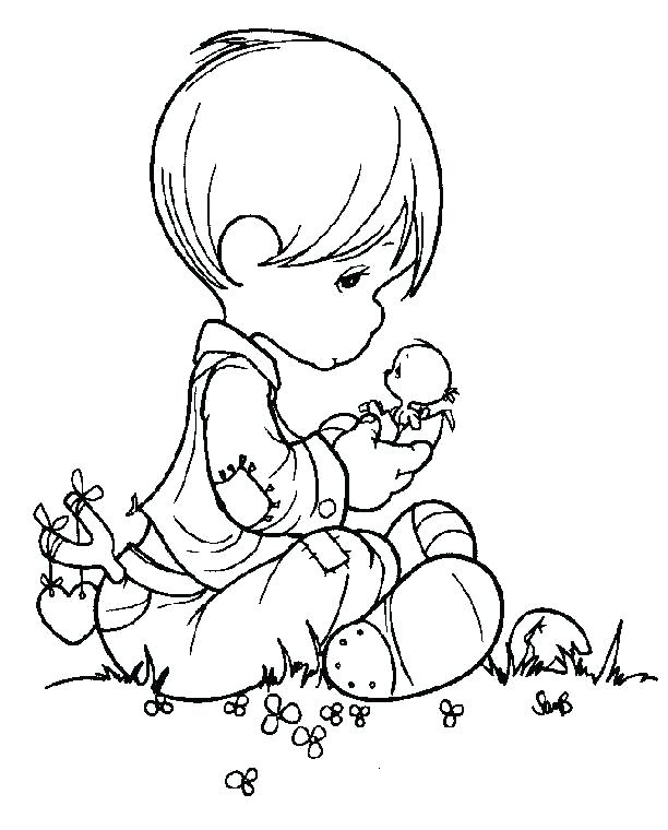612x760 Coloring Pages Of Precious Moments Best Free Precious Moments