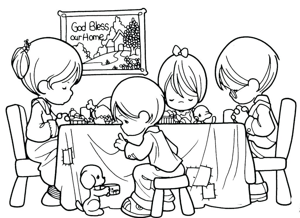 1024x744 Precious Moment Coloring Pages Baby Girl Precious Moments Coloring