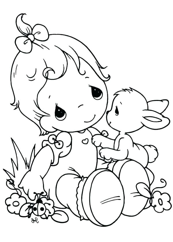 600x840 Precious Moments Animals Coloring Pages Precious Moments Printable