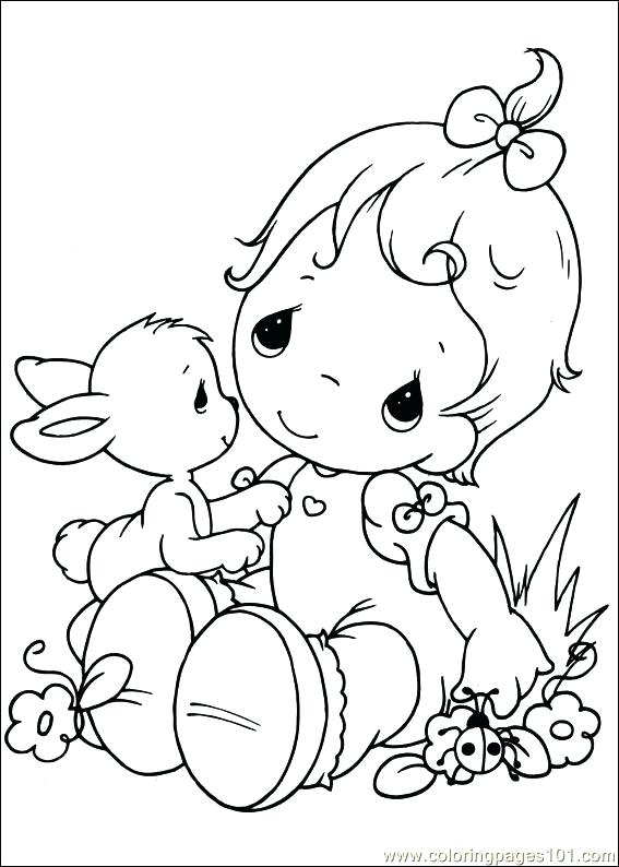 567x794 Precious Moments Baby Coloring Pages Cute Baby Coloring Pages Cute