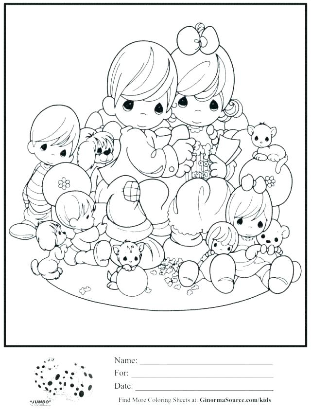 640x849 Precious Moments Baby Girl Coloring Pages Printable Coloring