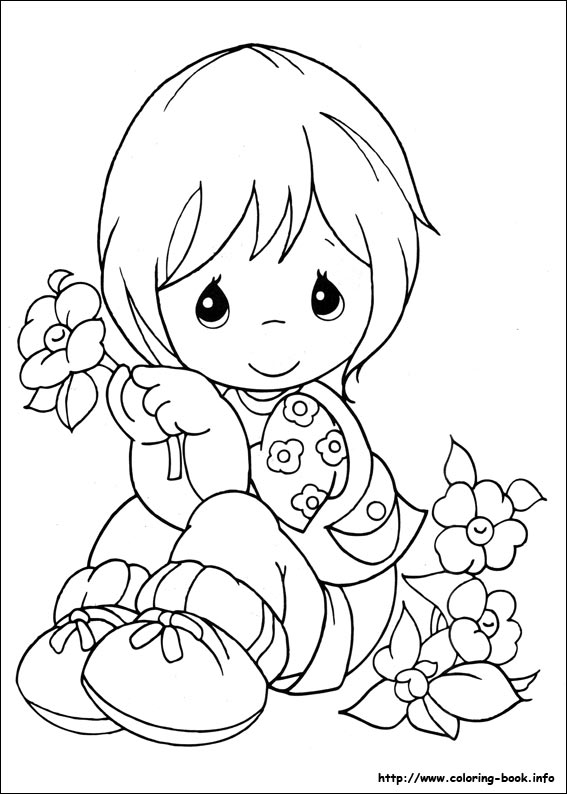 567x794 Precious Moments Coloring Pages On Coloring