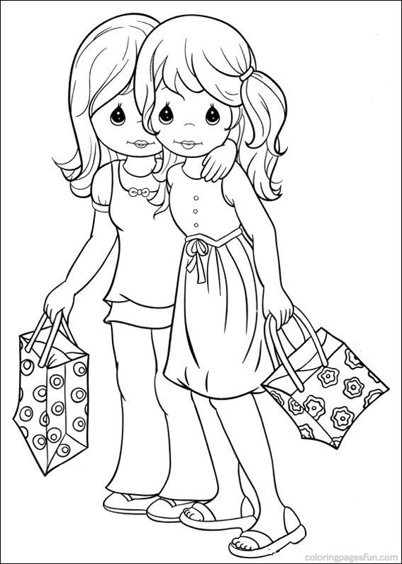 571x800 Friendship Coloring Pages For Girls