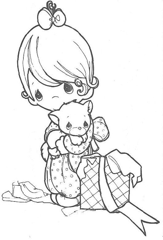 529x779 Precious Moments Coloring Pages To Color