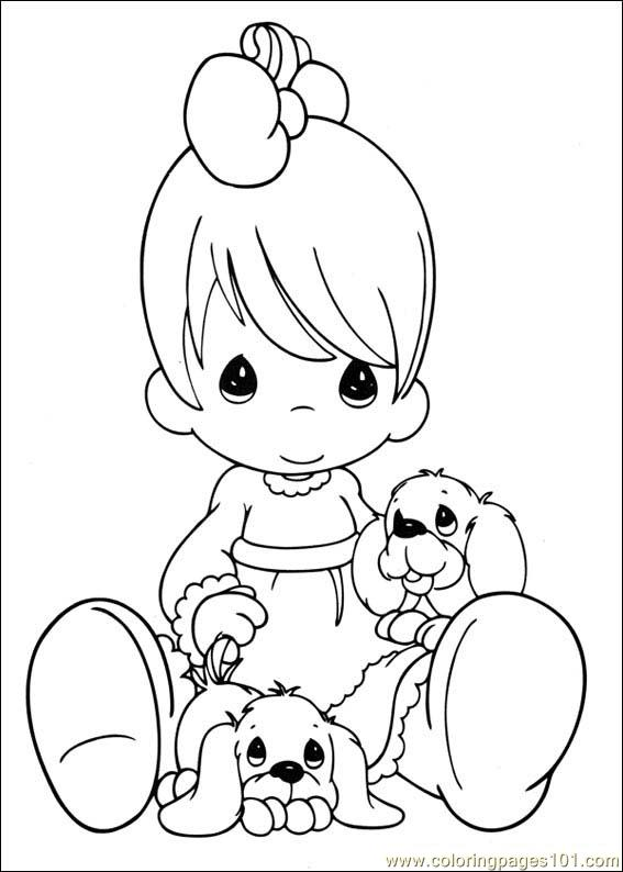567x794 Coloring Pages Precious Moments Baby Coloring Pages