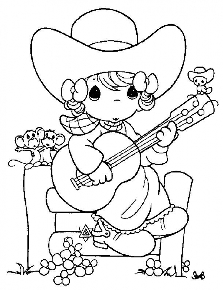 739x960 Get This Precious Moments Girl Coloring Pages !