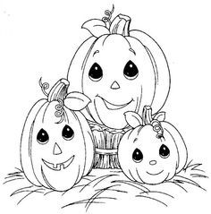 236x239 Fun Coloring Pages Pumpkin Halloween Precious Moments Coloring