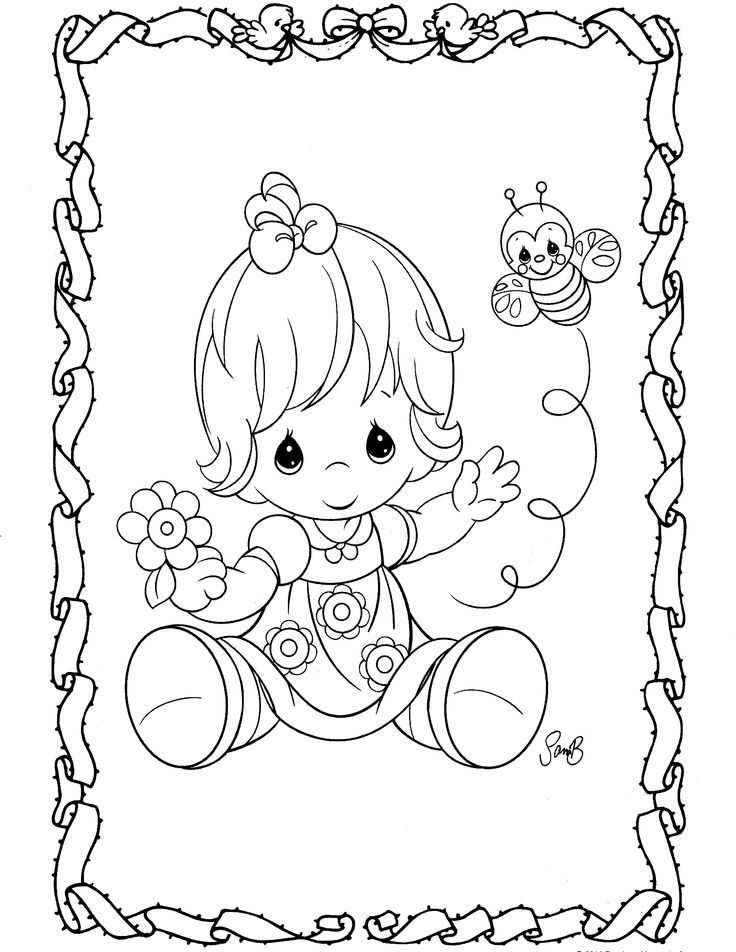 736x952 Precious Moments Animal Coloring Pages