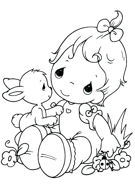 567x794 Precious Moments Halloween Coloring Pages Funycoloring Precious