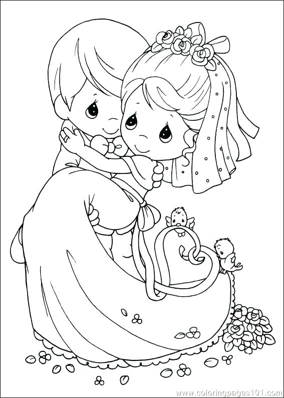 567x794 Precious Moments Letters Coloring Pages Coloring Precious Moments