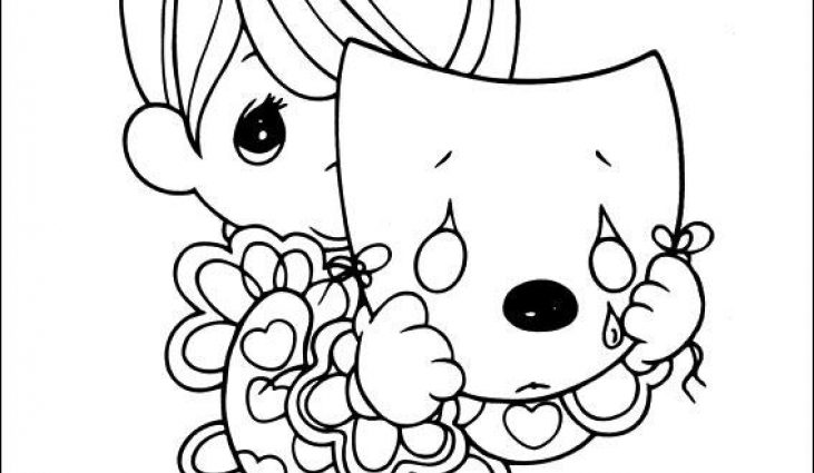 731x425 Precious Moments Halloween Coloring Pages Precious Moments