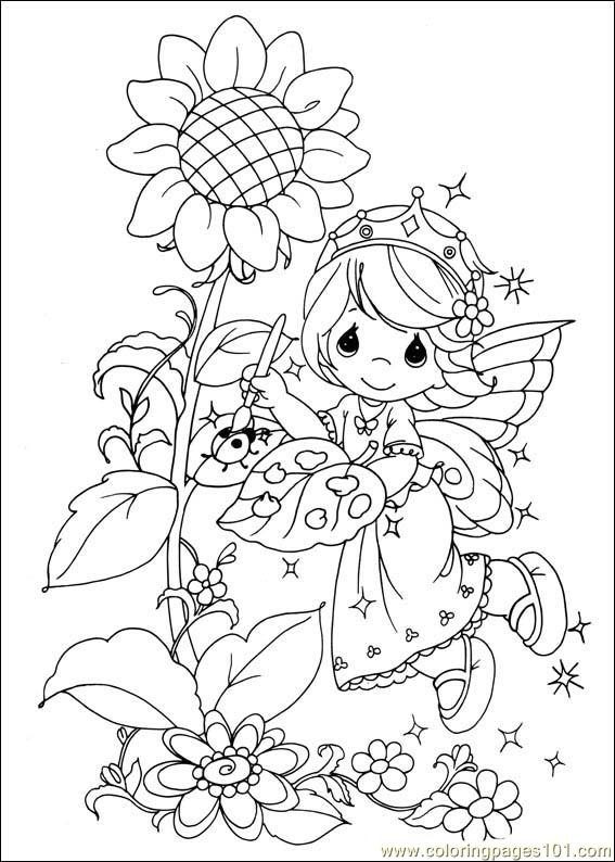 567x794 Precious Moments Halloween Coloring Pages Precious Moments Spring
