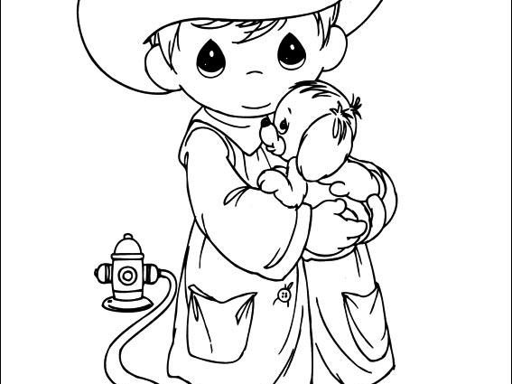567x425 Attractive Precious Moments Halloween Coloring Pages Ideas