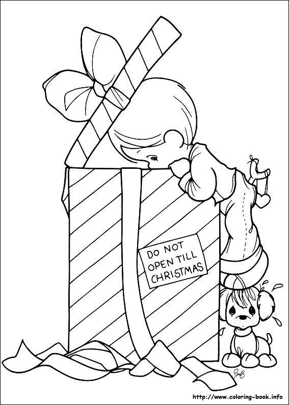 567x794 Beautiful Precious Moments Nativity Coloring Pages Pictures