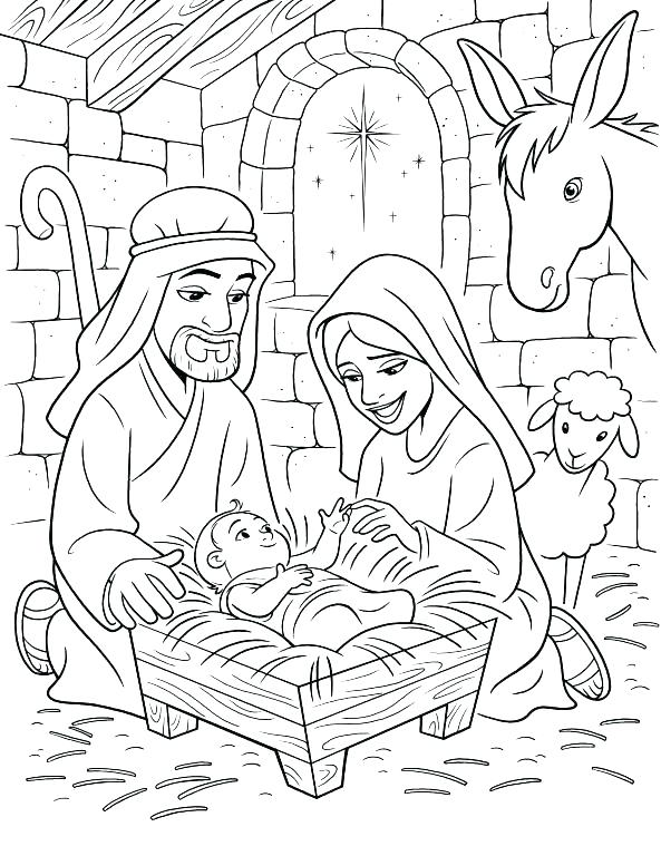 593x768 Precious Moments Christmas Coloring Pages Precious Moments