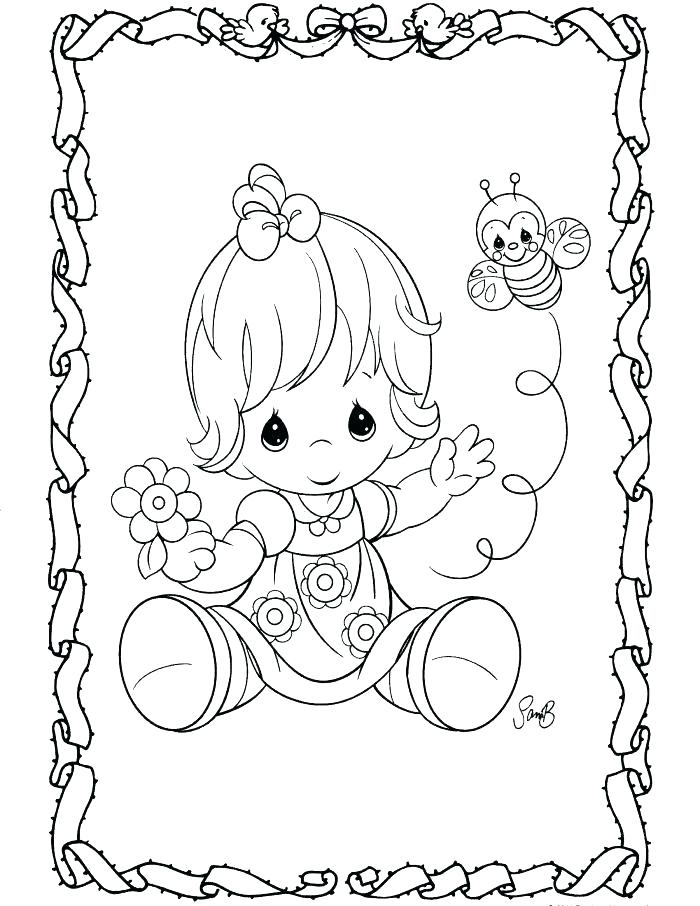 700x906 Precious Moments Coloring Pages Christmas Precious Moments