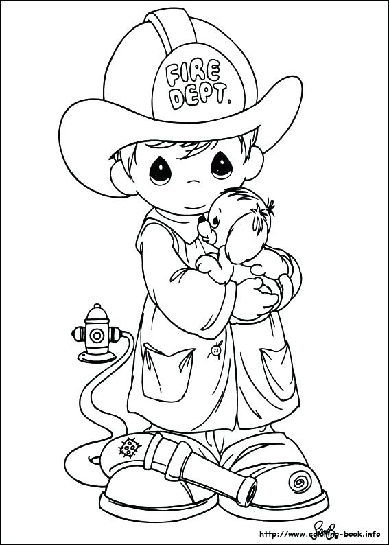 567x794 Precious Moments Nativity Coloring Pages Nativity Scene Coloring