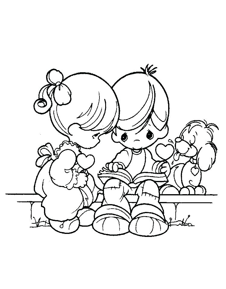 750x960 Precious Moments Nativity Coloring Pages Precious Moments Coloring