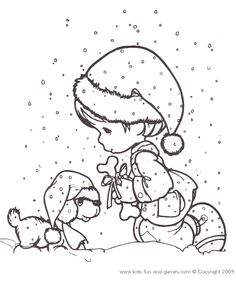 236x281 Christmas Coloring Pages Nativity Precious Moments Color Jesus