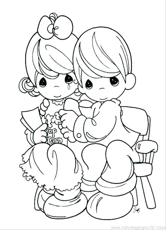 650x900 Precious Moments Wedding Coloring Page Printable Coloring Best