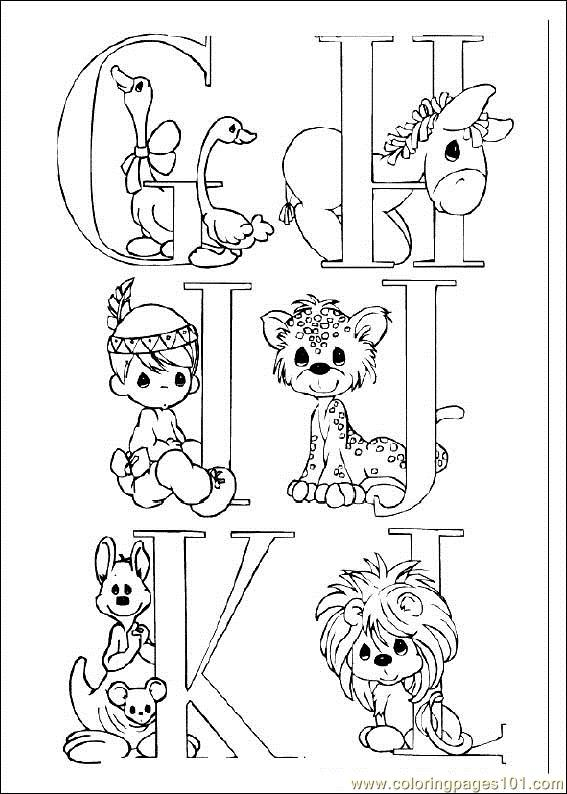 567x794 Precious Moments Coloring Pages