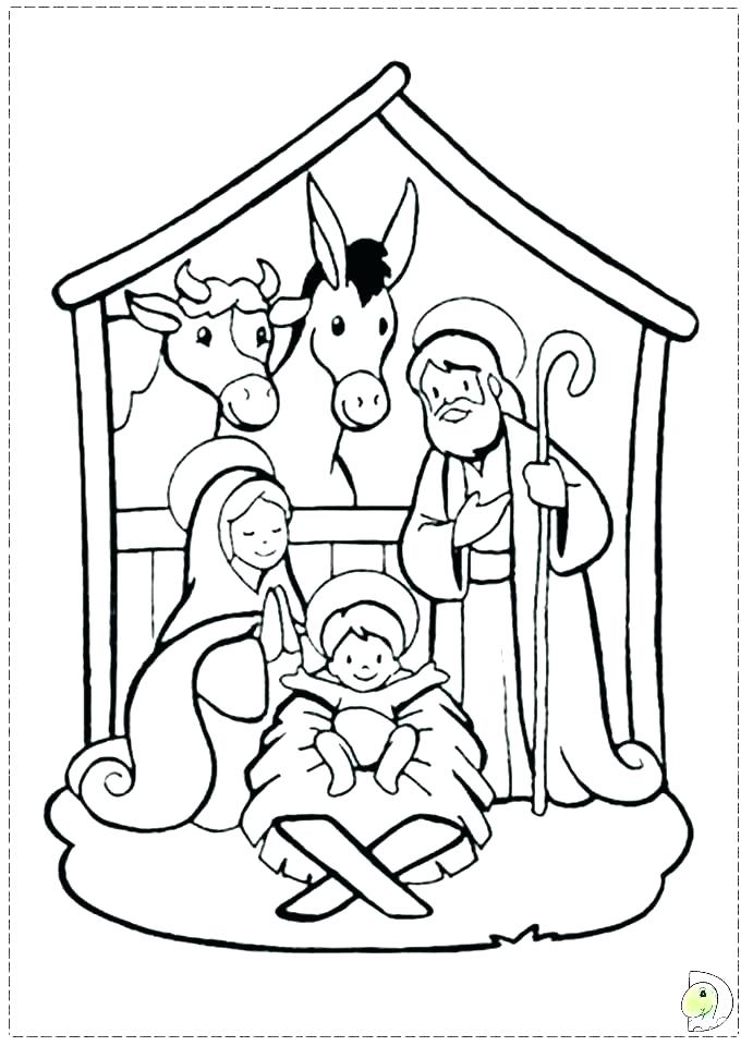 691x960 Coloring Pages Nativity Nativity Coloring Pages Bible Coloring