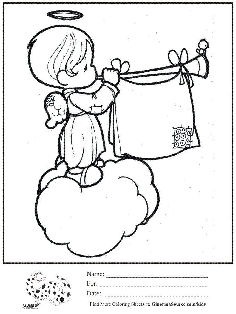 791x1050 Precious Moments Nativity Scene Coloring Pages