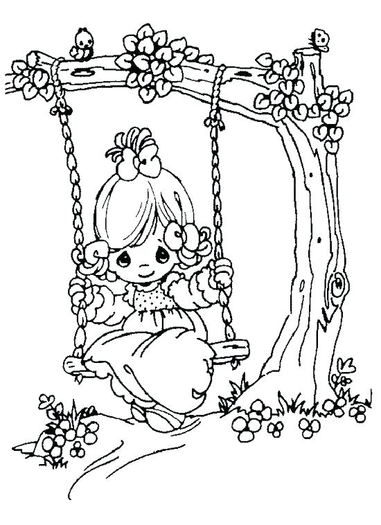 550x758 Nativity Scene Coloring Pages Preschoolers Deepart