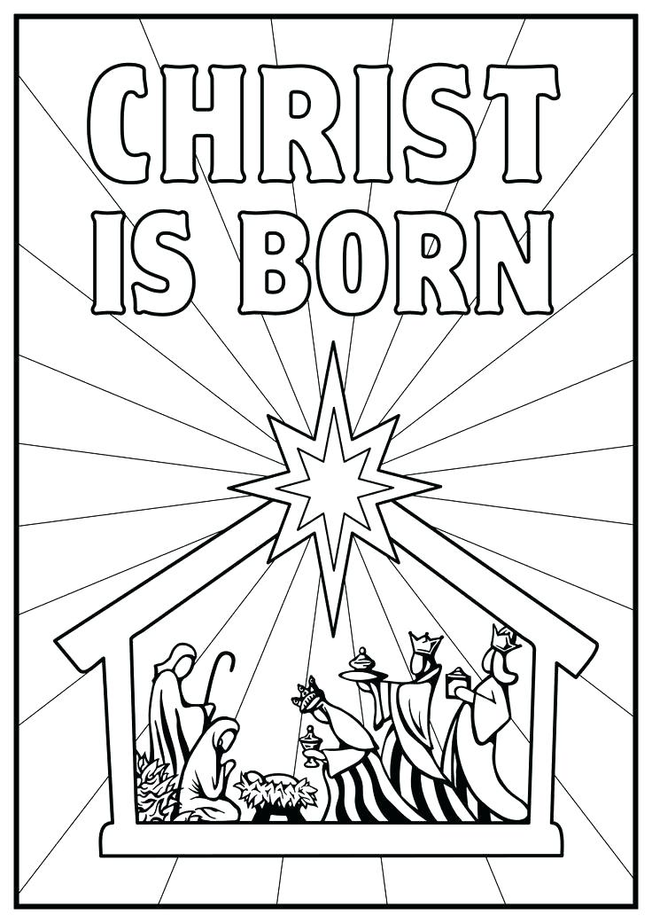 736x1041 Breathtaking Scene Coloring Pages Coloring Pages Nativity Precious