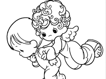 440x330 Praying Coloring Pages, Free Christian Coloring Pages For Kids