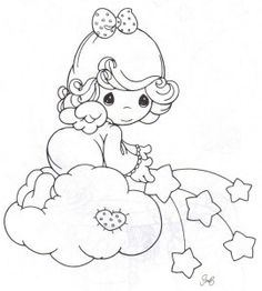 236x262 Guardian Angel Prayer Coloring Page Angel Precious Moments