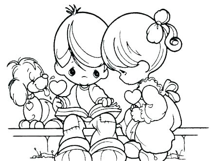 440x330 Precious Moments Animals Coloring Pages Precious Moments Animals