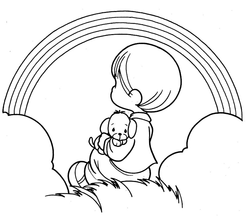 800x706 Precious Moments Coloring Pages