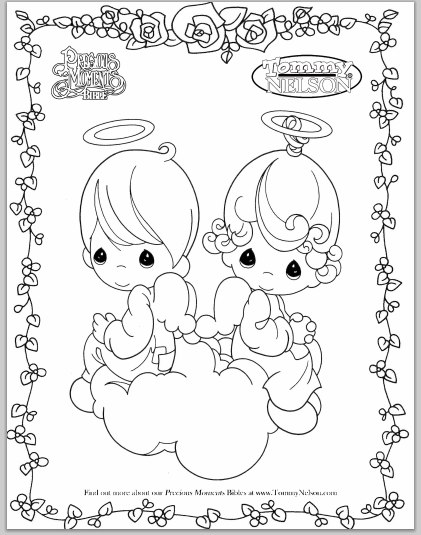 421x535 Precious Moments Coloring Pages Doctor Bedtime Routine Coloring