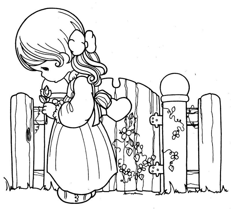800x724 Coloring Pages Precious Moments Images Colorier