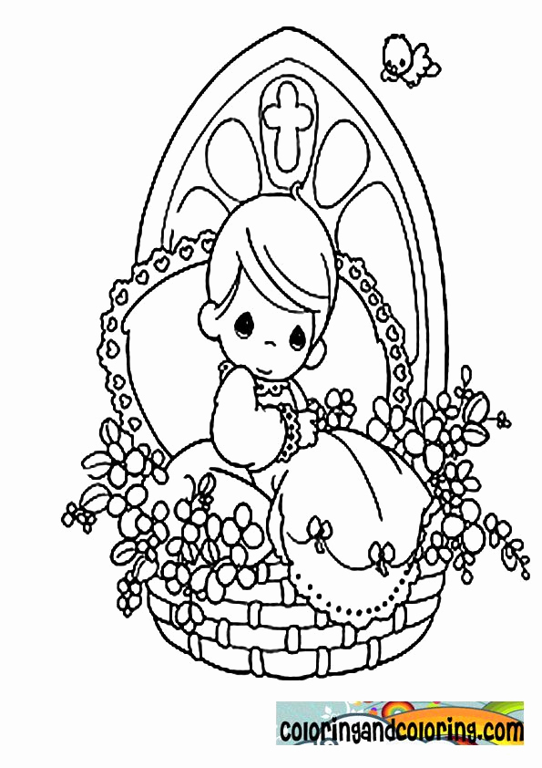 37 Best Precious Moments Coloring Pages for Kids - Updated 2018 | 842x595