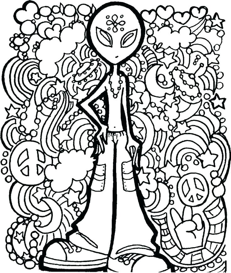 736x867 Alien Coloring Pages Alien Coloring Alien Coloring Pages Alien