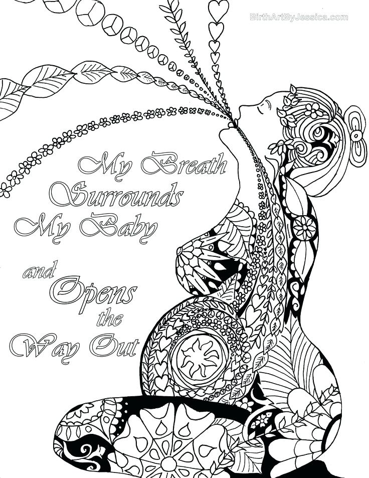 736x953 Free Birth Affirmation Coloring Pages Best Affirmations Images