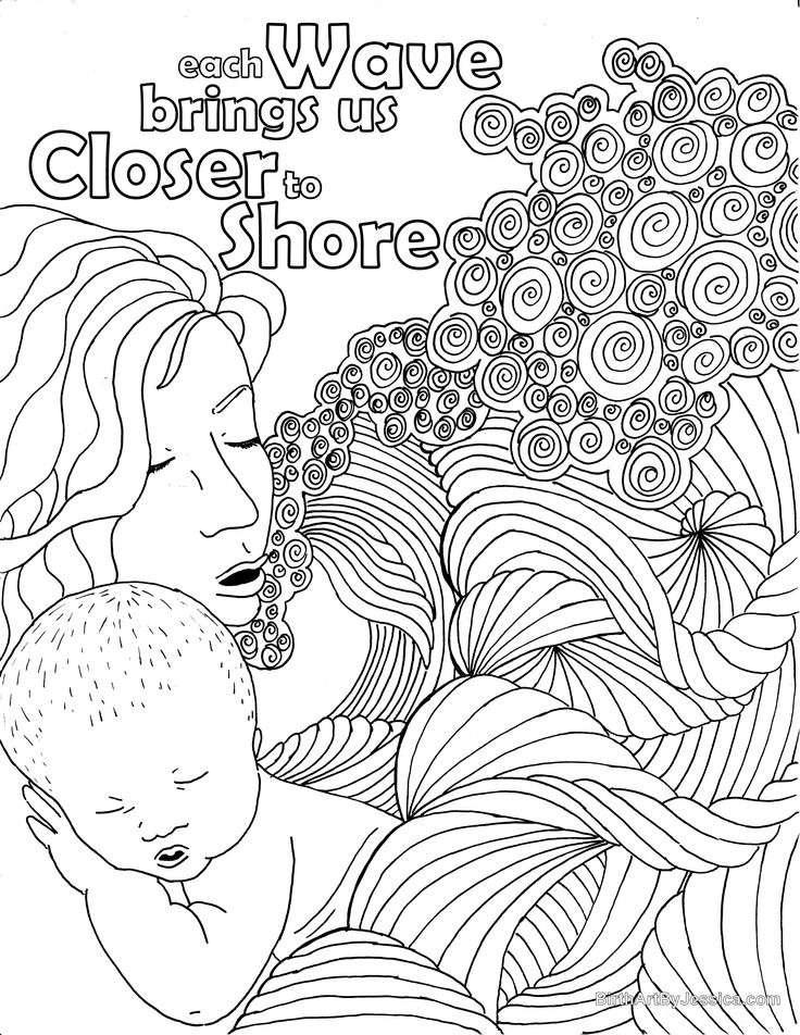 736x952 Best Birth Pregnancy Coloring Pages Images On Birth