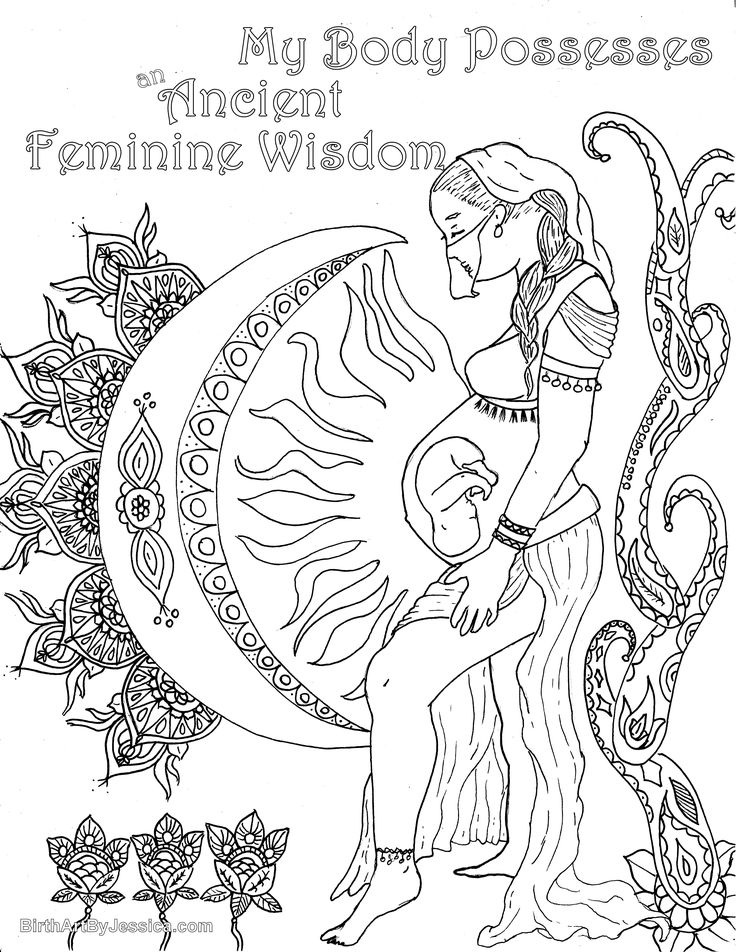 736x952 Best Birth And Pregnancy Coloring Pages Images