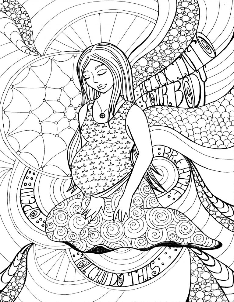 768x994 Coloring Pages Of Pregnant Woman Fresh Copy
